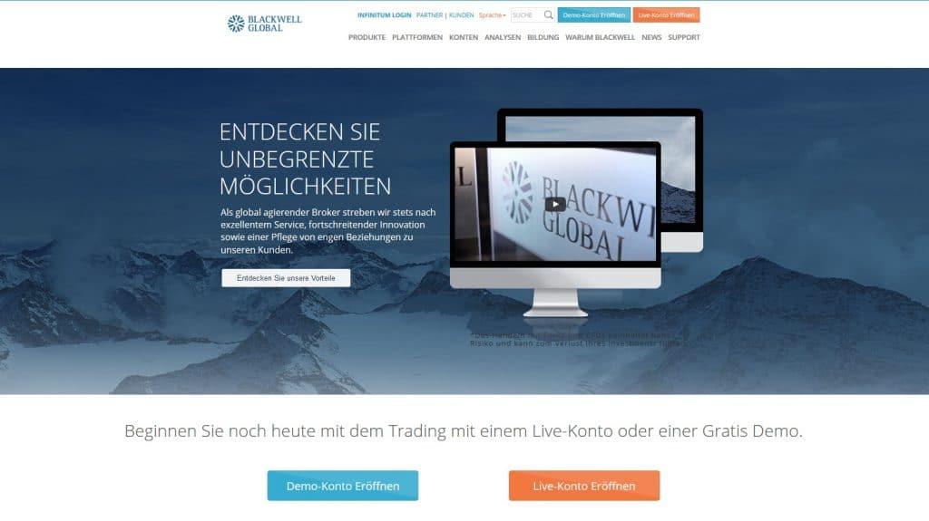 online forex handel blackwell global erfahrungen seriöser broker für professionelle trader